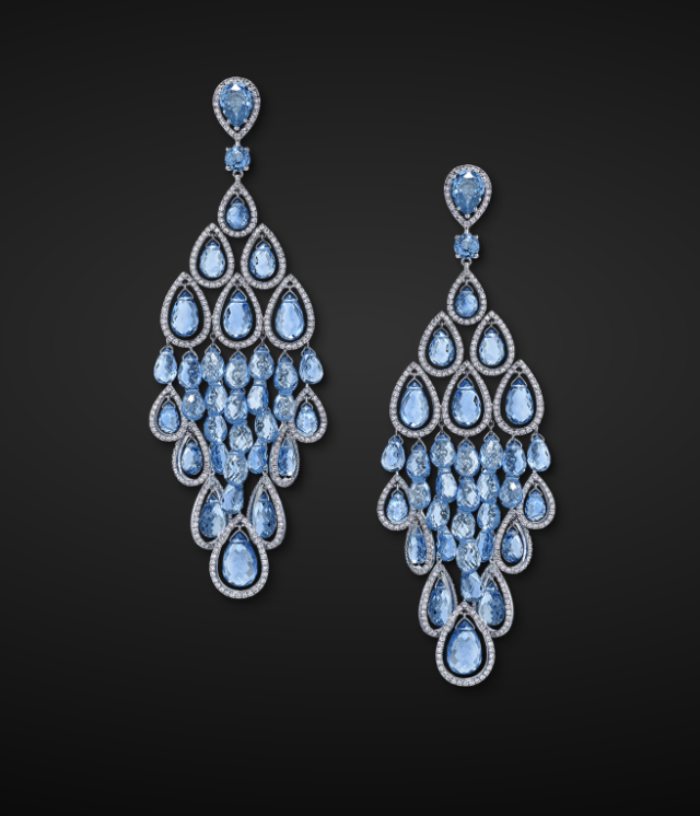 Briolette Earrings by Graff Diamonds